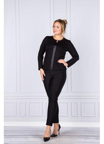 Spodnie codzienne damskie cygaretki Plus Size