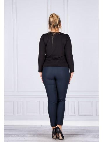 Spodnie damskie cygaretki Plus Size