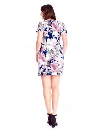 Dopasowana sukienka Plus Size