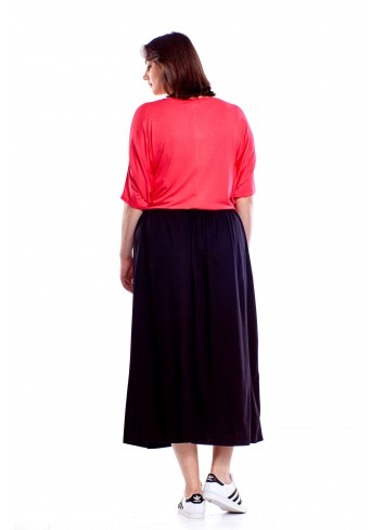 Długa spódnica Plus Size