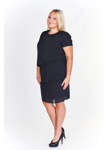 Sukienka warstwowa Plus Size