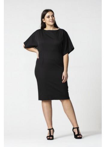 Sukienka z szerokimi rękawami Plus Size