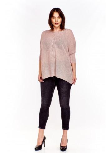 Oversiz'owy sweter Plus Size