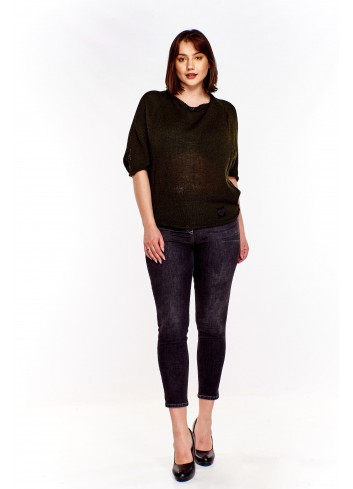 Oversize'owy sweter Plus Size