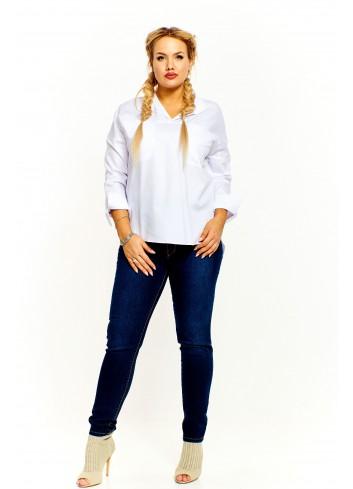 Elegancka bluzka koszulowa Plus Size