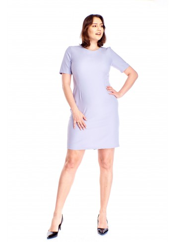 Ołówkowa sukienka z guzikami Plus Size