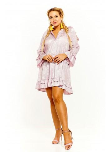 Połyskująca sukienka Plus Size