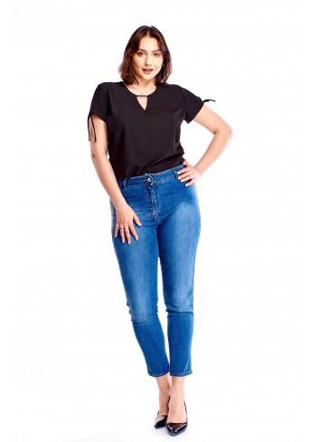 Jeansowe spodnie Plus Size