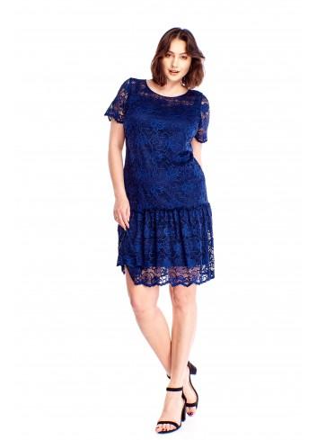 Koronkowa sukienka Plus Size