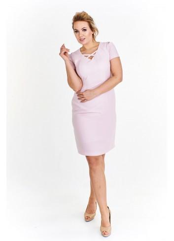 Ołówkowa sukienka przed kolano Plus Size