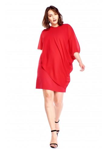 Zwiewna sukienka Plus Size