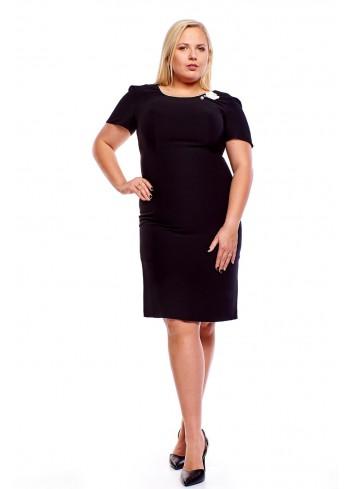 Klasyczna sukienka o prostym fasonie Plus Size