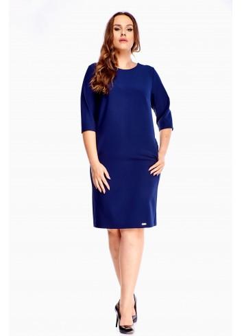 Sukienka ołówkowa midi dla puszystej Plus Size