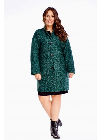 Klasyczny płaszcz oversize modny wygodny elegancki XXL