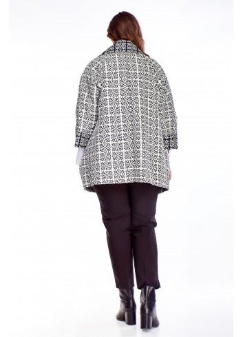 Sweter z domieszką wełny PLUS SIZE