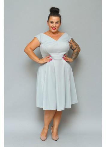 Sukienka Elegancka rozkloszowana MOONLIGHT