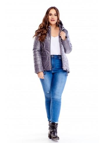 Modna wiosenna kurtka Plus Size XXL