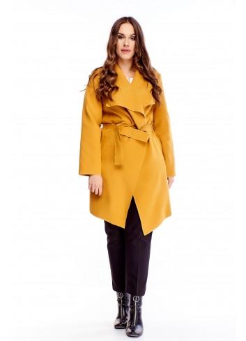 Stylowy płaszcz Plus size duży rozmiar XXL