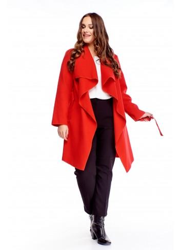 Stylowy płaszcz Plus size duży rozmiar