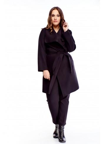Stylowy płaszcz duży rozmiar Plus size