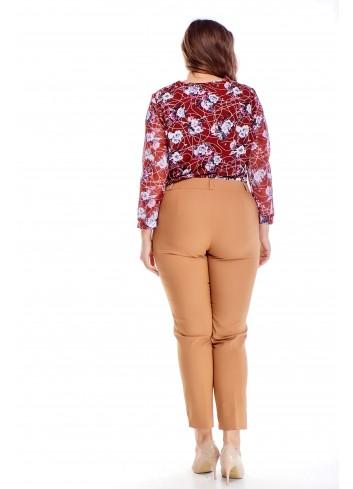 eleganckie spodnie w kant