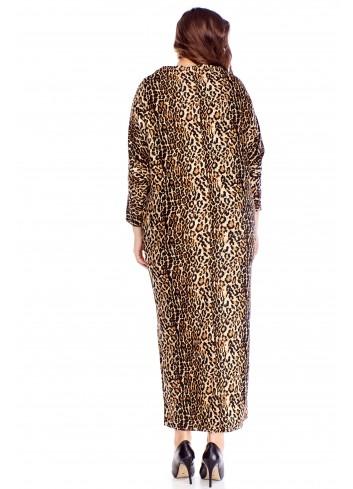 bawełniana sukienka maxi
