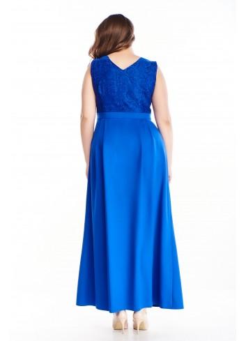 Sukienka maxi wieczorowa na bal studniówkę wesele PLUS SIZE