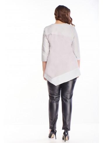 Modna bluzka dla puszystej modnej kobiety PLUS SIZE XXL