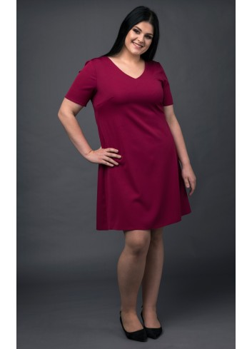Sukienka Trapezowa Mia Farrow Plus Size Laprim