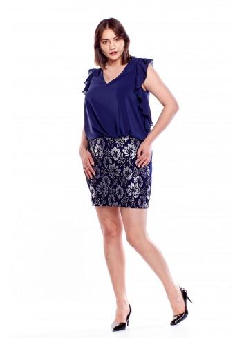 Sukienka z bluzką Fenii moda