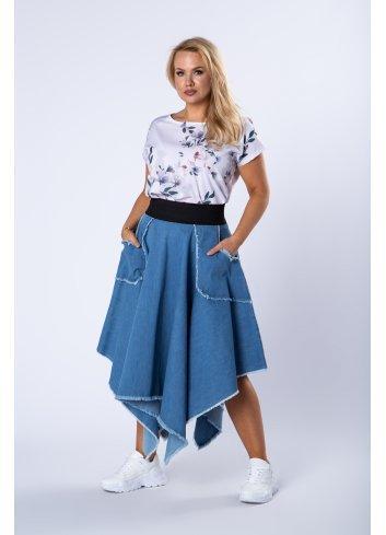 Spódnice plus size dla puszystych duże rozmiary XXL