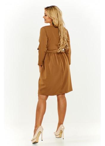 Sukienka z kopertowym dekoltem Plus Size